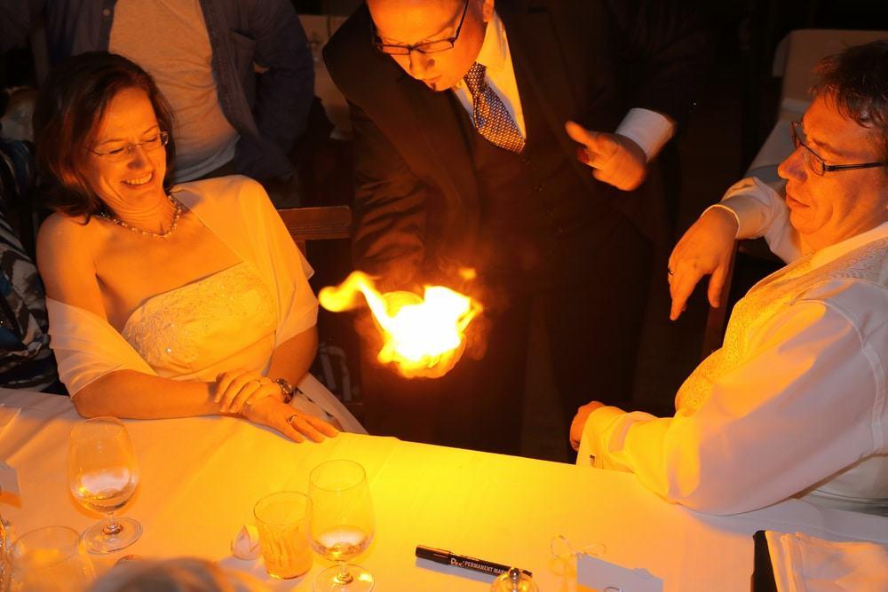 Zauberer Hochzeit Aub