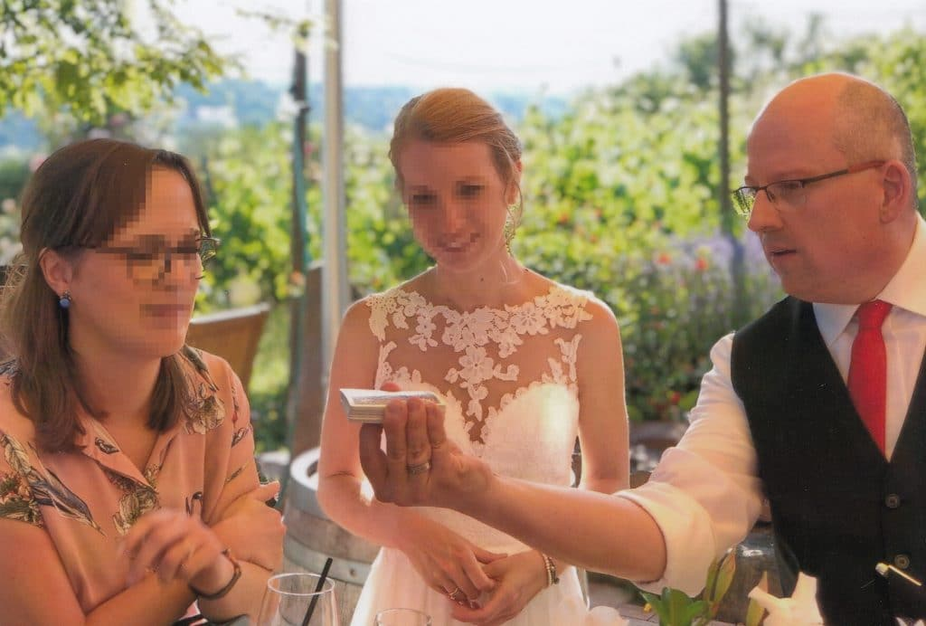 Zaubern Hochzeit Aub