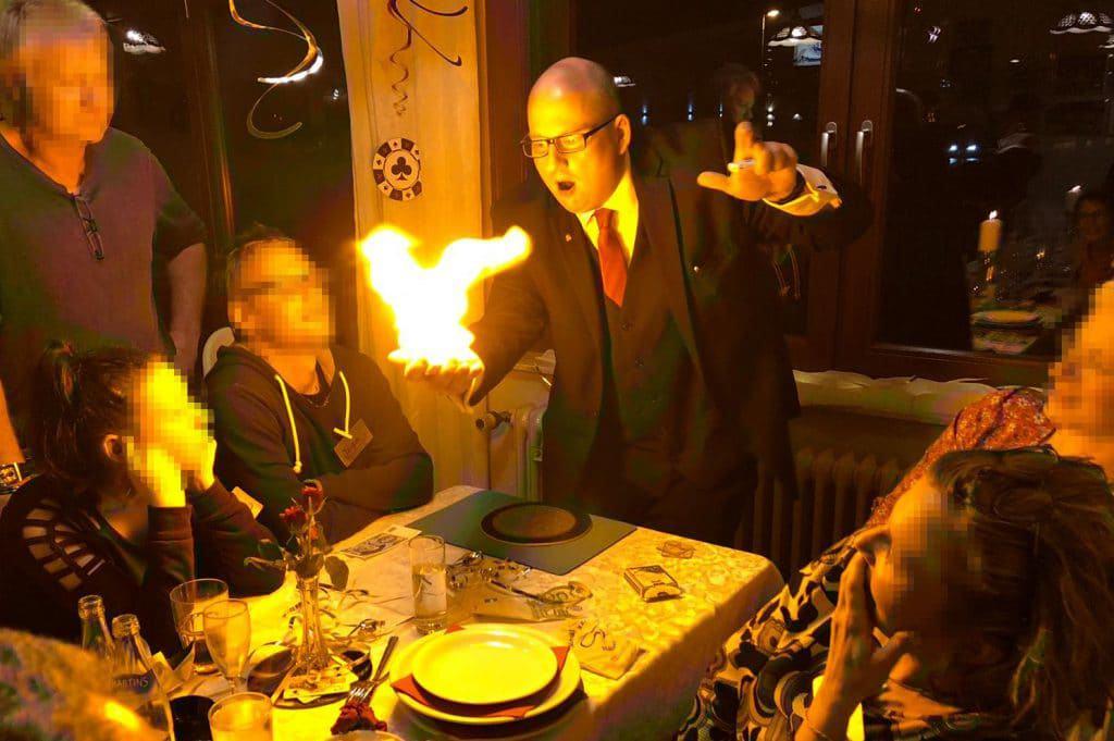 Zauberer in Arnstein